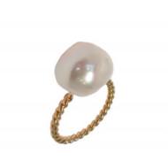 FRIZZ  Bague perle