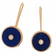 NIL boucles d'oreilles lapis lazuli