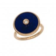 NIL bague lapis lazuli