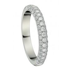 Alliance Platine Diamants - Inséparable