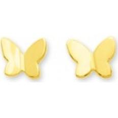 Papillons Or jaune