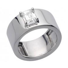 Bague Or blanc Diamant - Nicky Emeraude