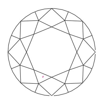 Diamant purete VVS - Pimento.fr