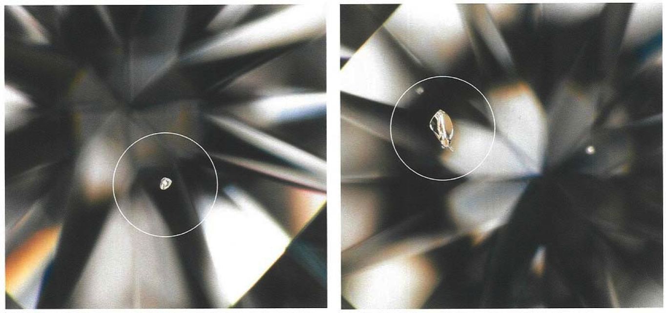 Inclusions Diamants