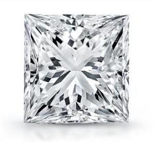 Diamant taille Princesse - Carré